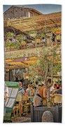 Creperie Restaurant Carcassonne Dsc01697 Bath Towel
