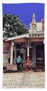 Crossroads Store Bar Juke Joint And Gas Station Fsa Marion Post Wolcott Melrose Louisiana Hand Towel