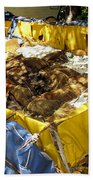 Cuban Refugee Boat 5 Bath Towel