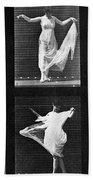 Dancing Woman Bath Towel
