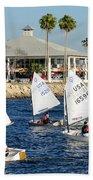 Davis Island Yacht Club Bath Towel