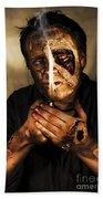 Dead Man Smoking Hand Towel