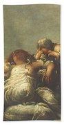 Death Of Cleopatra Bath Towel