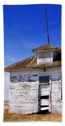 Defunct One Room Country School Building Bath Towel