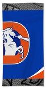 Denver Broncos Bath Towel