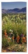 Desert Wildflowers Bath Towel