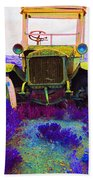 Diamond T Touring Car C.1911 Ghost Town South Pass City Wyoming 1971-2009 Bath Towel