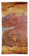 Dodge In Rust Bath Towel