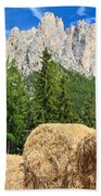Dolomiti - Alpine Pasture Bath Towel