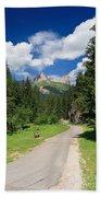 Dolomiti - Fassa Valley Bath Towel