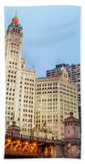Downtown Chicago View Hand Towel