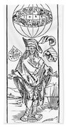 Durer: Syphilitic, 1496 Bath Towel