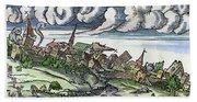 Earthquake, 1550 Bath Towel