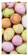 Easter Eggs Hand Towel by Tom Gowanlock
