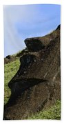 Easter Island 18 Bath Towel