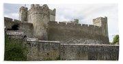 Exterior Of Cahir Castle Bath Towel