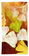 Falling Leaves Hand Towel
