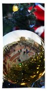 Faneuil Hall Christmas Tree Ornament Bath Towel