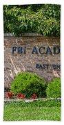 Fbi Academy Quantico Bath Towel