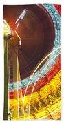 Ferris Wheel Evergreen State Fair Bath Towel