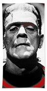 Film Homage Boris Karloff The Bride Of Frankenstein 1935 Publicity Photo 1935-2012 Bath Towel