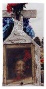 Film Homage John Wayne The Greatest Story Ever Told 1965 Cemetery Tubac Arizona 2000 Bath Towel