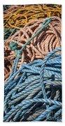 Fishing Ropes Bath Towel