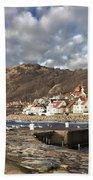 Fishing Village Of Molle In Sweden Bath Towel