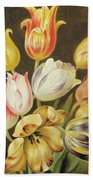 Flower Study Bath Towel
