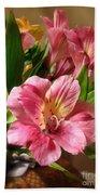 Flowers In Bloom Bath Towel