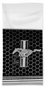Ford Mustang Gt 350 Grille Emblem Bath Towel