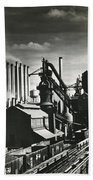 Ford's River Rouge Plant Hand Towel