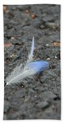 Found Feather Bath Towel