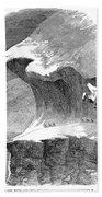 France Mont Blanc, 1851 Bath Towel