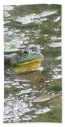 Frog Bath Towel