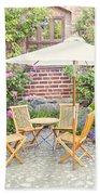 Garden Seating Area Bath Towel