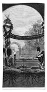 Garfield Funeral, 1881 Bath Towel