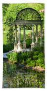 Gazebo By Lake Bath Towel