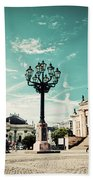 Gendarmenmarkt In Berlin Germany Bath Towel