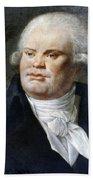 Georges-jacques Danton (1759-1794) Bath Towel