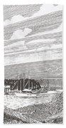 Lighthouse Gig Harbor Entrance Bath Towel