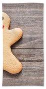 Gingerbread Man Hand Towel by Tom Gowanlock