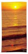 Golden - Sunrise Bath Towel