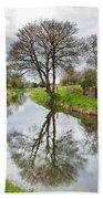 Grand Canal At Miltown Bath Towel