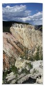 Grand Canyon Of The Yellowstone Bath Towel