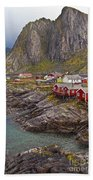 Hamnoy Rorbu Village Bath Towel