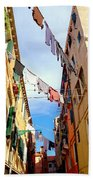 Hanging In Venice Bath Towel
