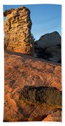 Hoodoos At Sunset Bath Towel