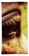 Horse Eye Bath Towel