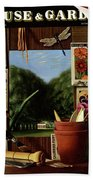 House And Garden Cover Hand Towel